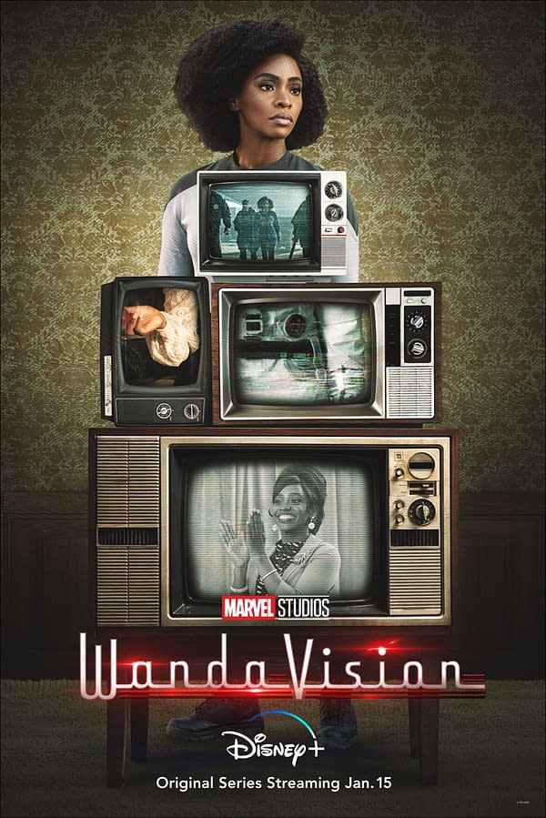 """WandaVision Releases Reality-Altered Posters, """"Visionary"""" New Teaser"""