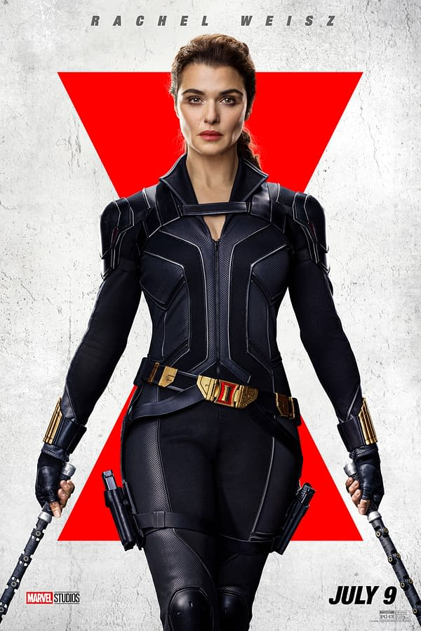 Black Widow: 6 New Character Posters Spotlight the Main Cast