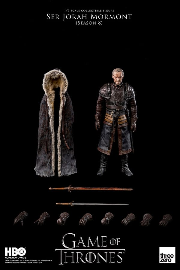 Game of Thrones Ser Jonah Mormont Figure Arrives At threezero