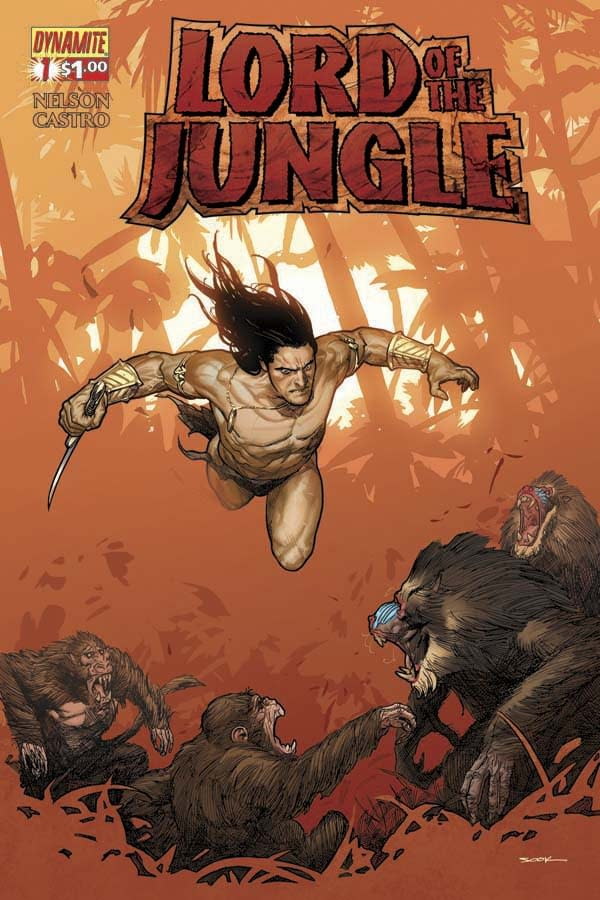 Dynamite Announces New Tarzan Comic For A Dollar. Except They Can't Call It Tarzan.