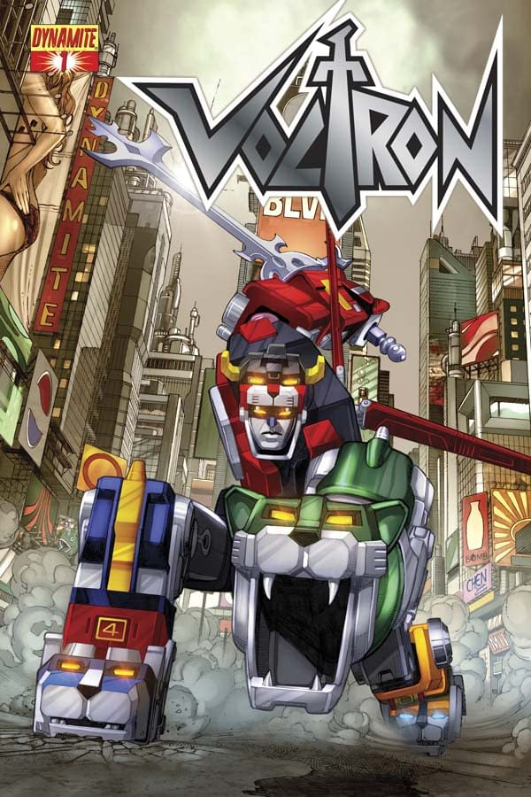Something Called Voltron To Be Published As A Comic By Dynamite In December