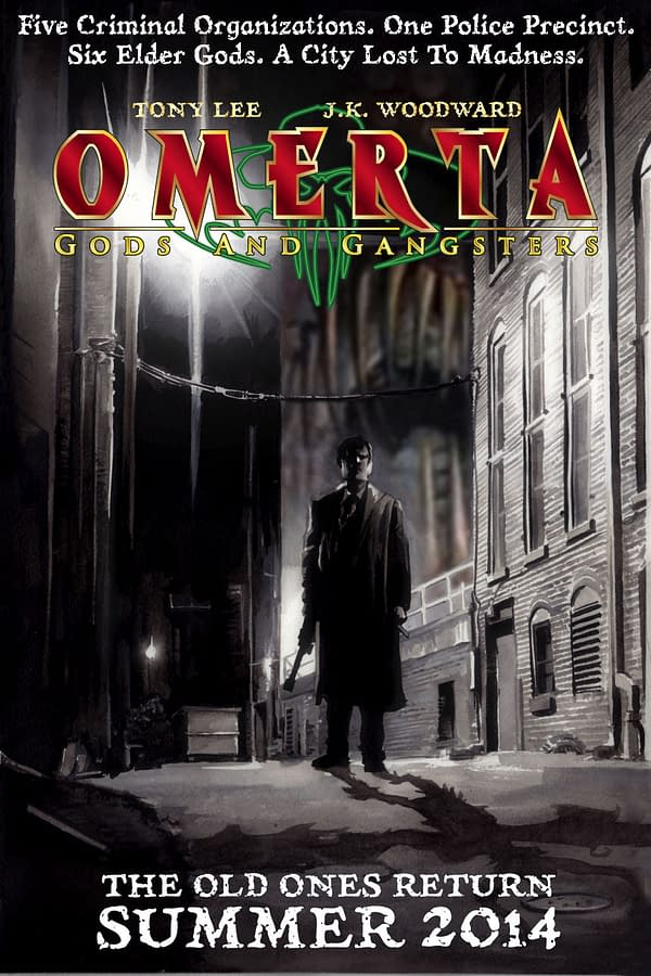 Omerta – A New Comic From Tony Lee And JK Woodward