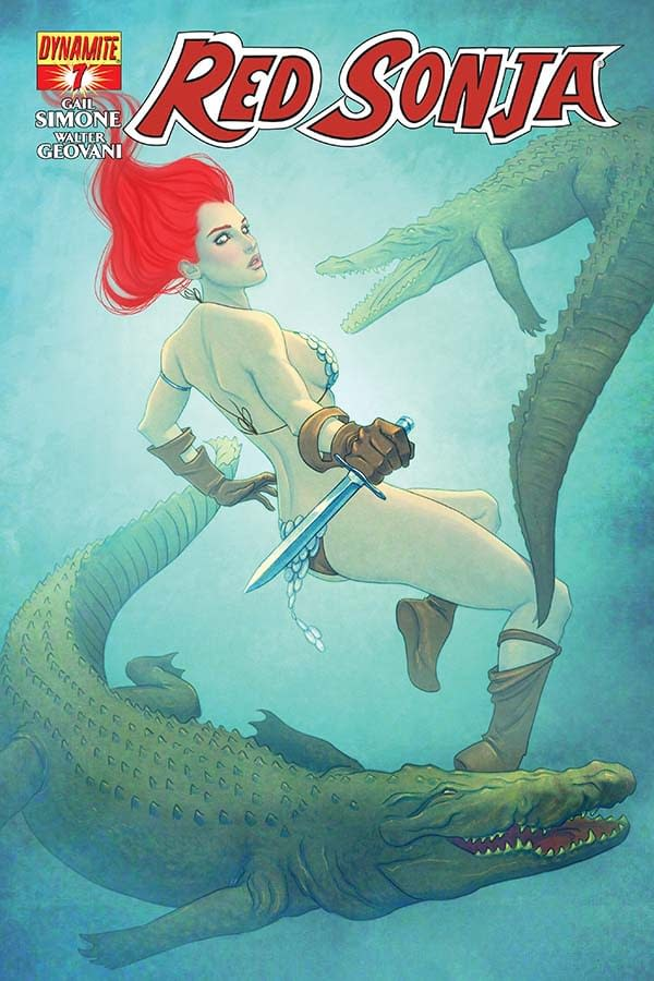 Read Red Sonja #7 and Check Out the Red Sonja Tarot Cards