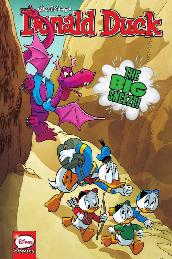 Donald Duck - The Big Sneeze - Cover
