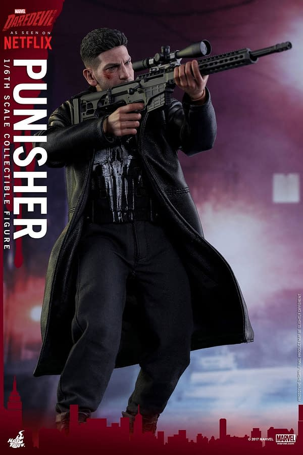 Greatness: The Hot Toys Netflix Punisher Figure Is Stunning