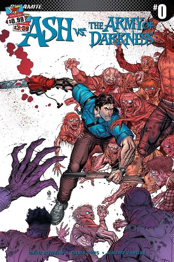 Read Ash vs the Army of Darkness #1 by Bowers, Sims, and Vargas