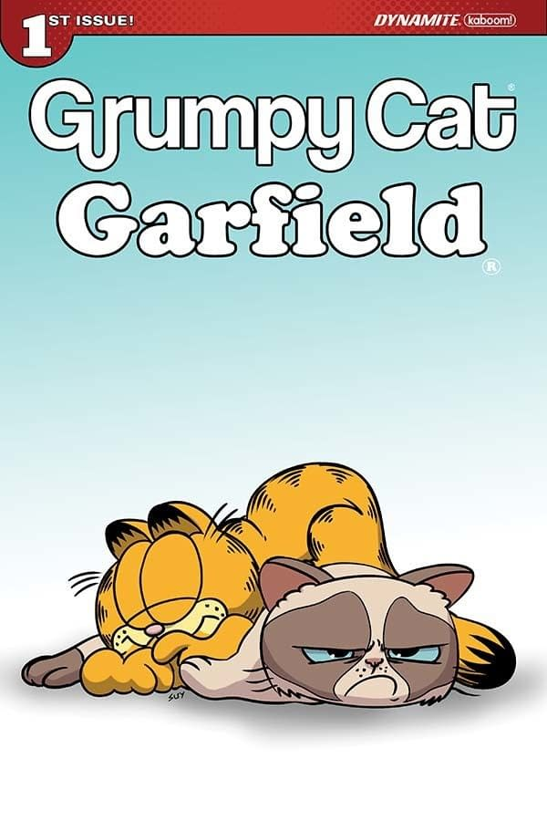 Mark Evanier Brings Together Feline Sensations Garfield And Grumpy Cat In New Mini-Series