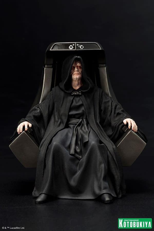 The Emperor Gets The Coolest Statue Ever From Kotobukiya