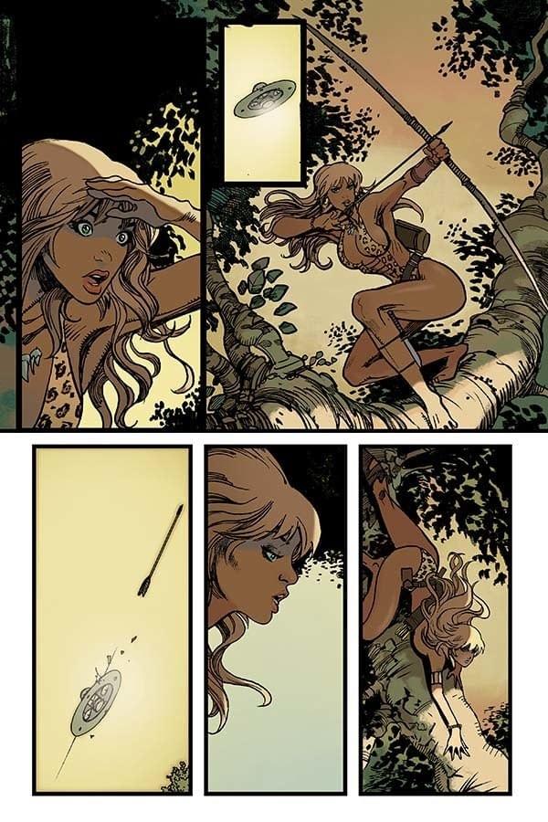 Exclusive Look Inside Sheena #0 By Bennett, Trujilo And Moritat