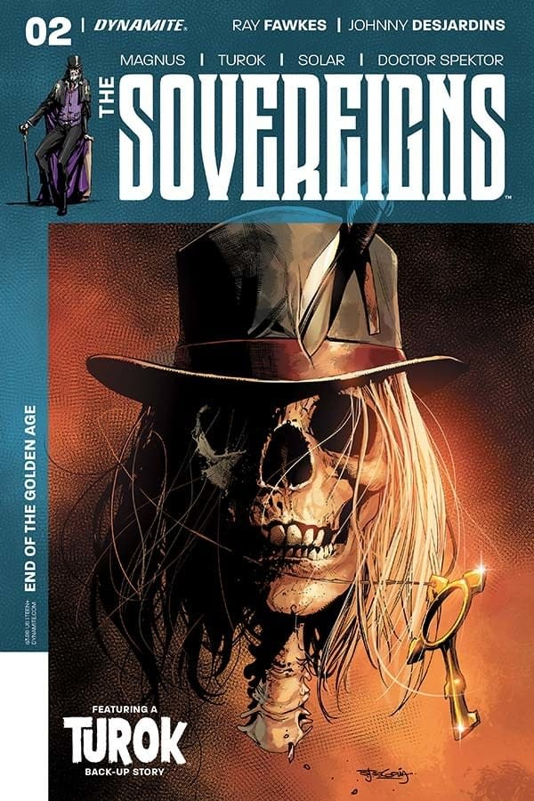 Writer's Commentary – Ray Fawkes Talks The Sovereigns #2 And That He Does Like Doctor Spektor