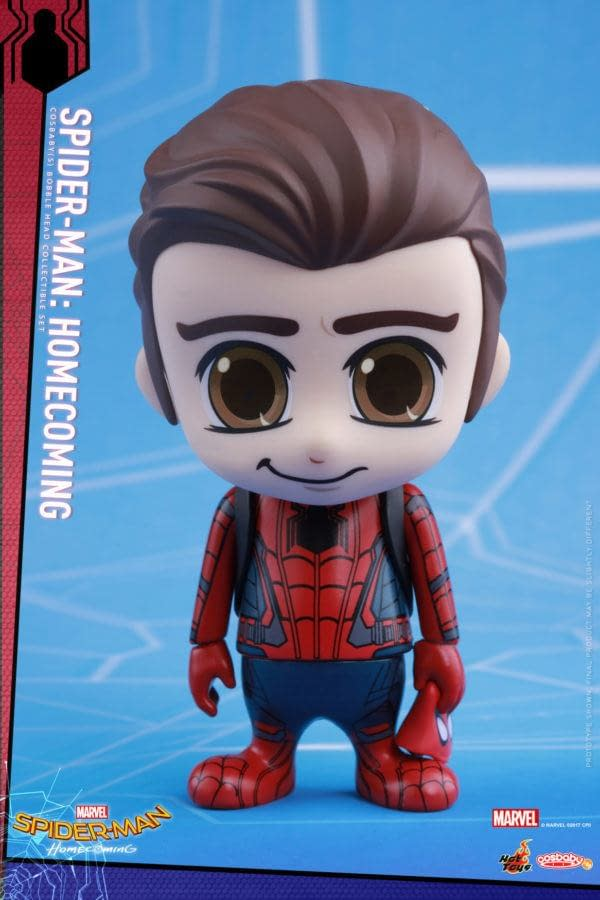 Hot Toys Spider-Man: Homecoming Cosbaby Figures Are Plentiful And Adorable