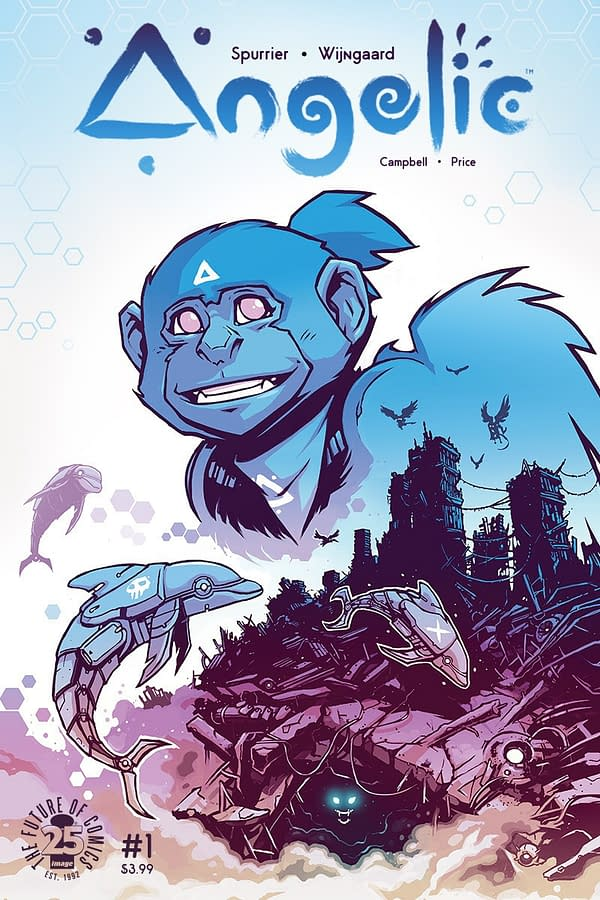Si Spurrier And Caspar Wijngaard Create The New Genre Of Teen Monkey Angel Fiction With Angelic, From Image Comics In September