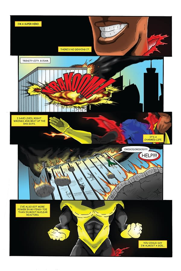 'Heat' On Kickstarter: Why The Heck Should You Care About Another Superhero Comic?