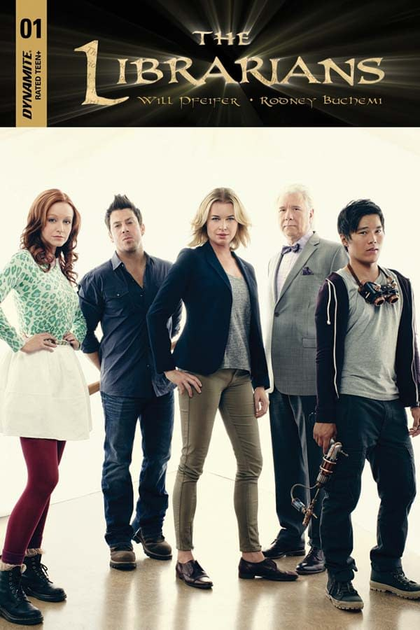 'The Librarians' To Get Behind-The-Scenes Art Book From Dynamite