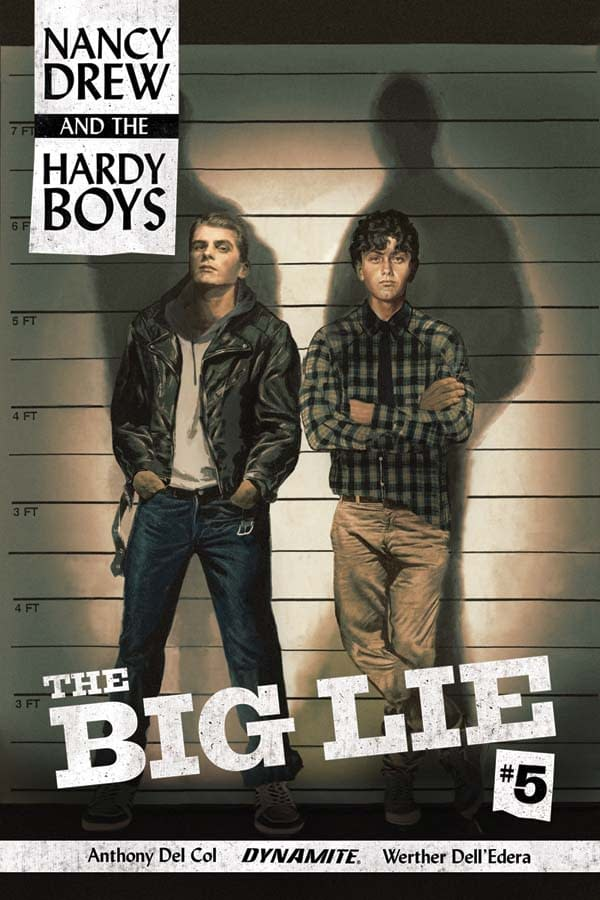 Writer's Commentary – Anthony Del Col On Nancy Drew & The Hardy Boys: The Big Lie #5