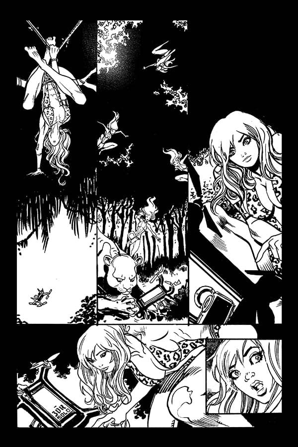 Exclusive First Look At Moritat's Art For Sheena #1