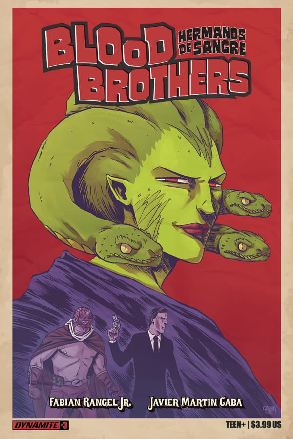 Fabian Rangel Jr And Javier Cuba's Blood Brothers Cancelled In Print, Gone Digital Only
