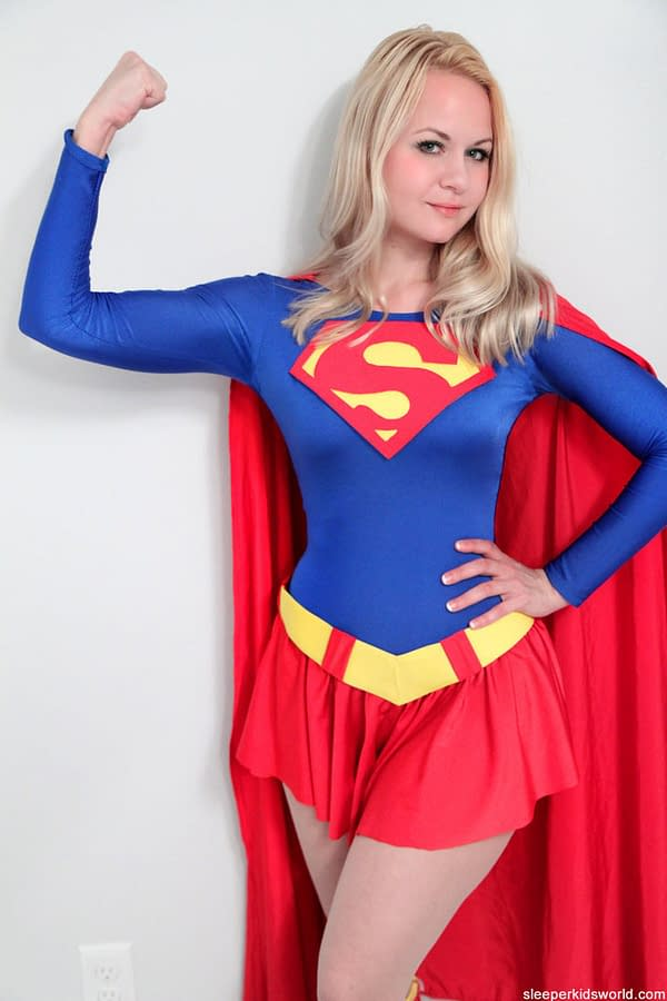 "We Talk To The Supergirl Cosplayer ""Along For The Ride"" At The White Nationalist Rally In Charlottesville"