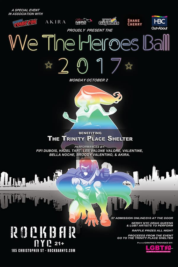 We The Heroes Ball Returns To New York Comic Con For Second Year