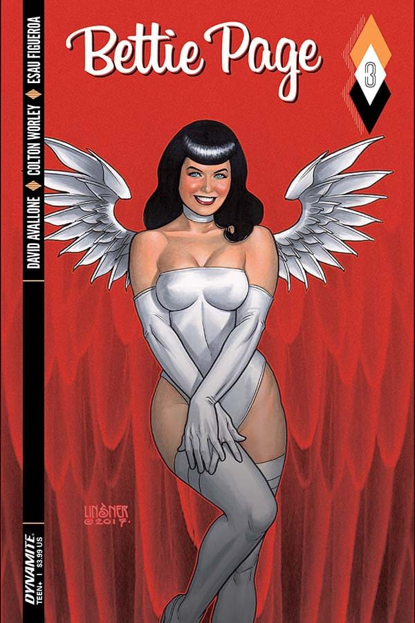 Writer's Commentary – David Avallone Talks Bettie Page #3