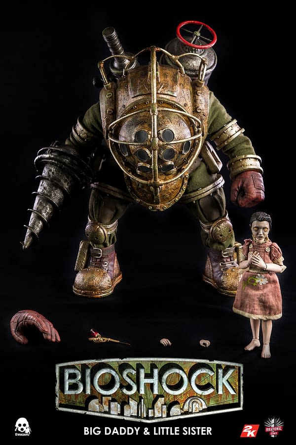 You Can Now Pre-Oder The 'BioShock' Figure Set
