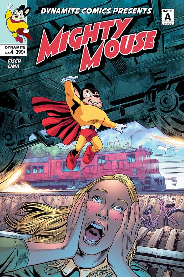 Sholly Fisch Wonders If Anyone Will Read His Mighty Mouse #4 Commentary