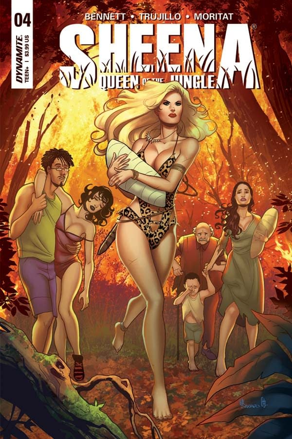 Exclusive First Look At The Women Of Dynamite Titles Shipping December 2017