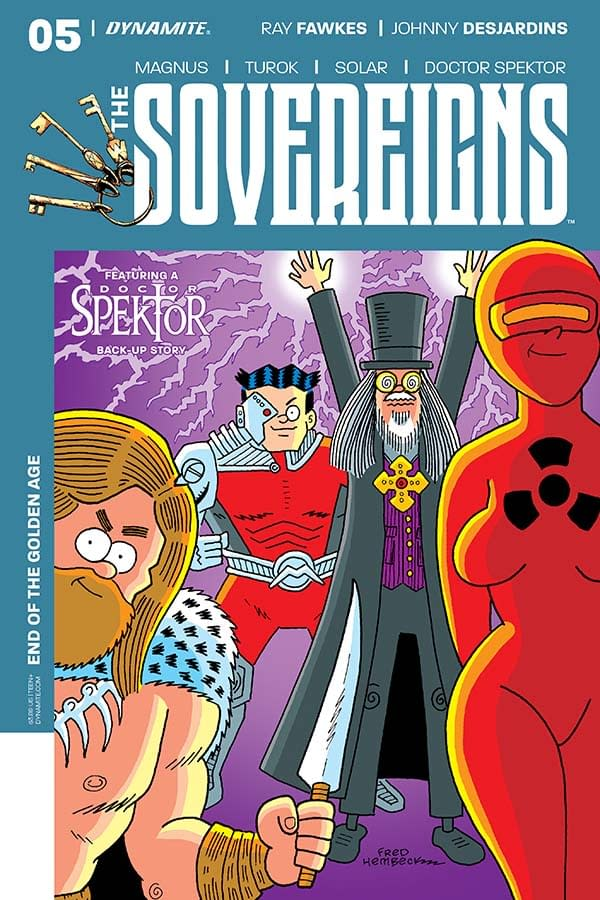 Writer's Commentary – Ray Fawkes On The Sovereigns #5