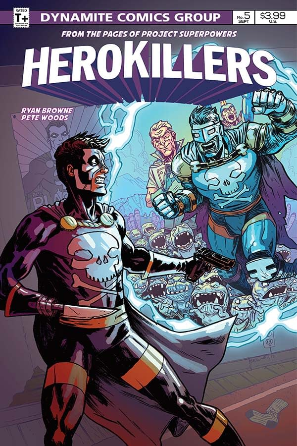Creator Commentary: Pete Woods Talks 'Project Superpowers: Hero Killers #5'