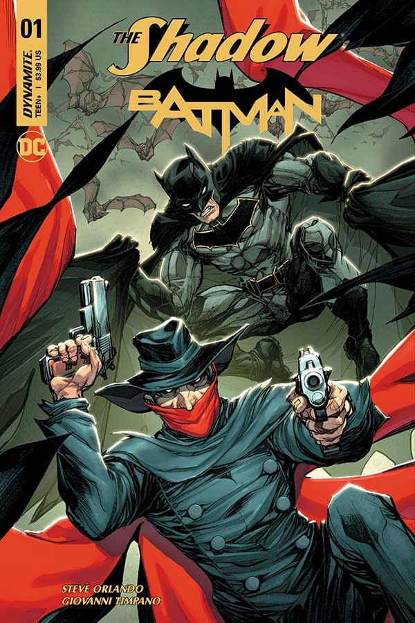 The Shadow/Batman #1 And An Exclusive Extended Preview Of Hack/Slash Vs Vampirella #1