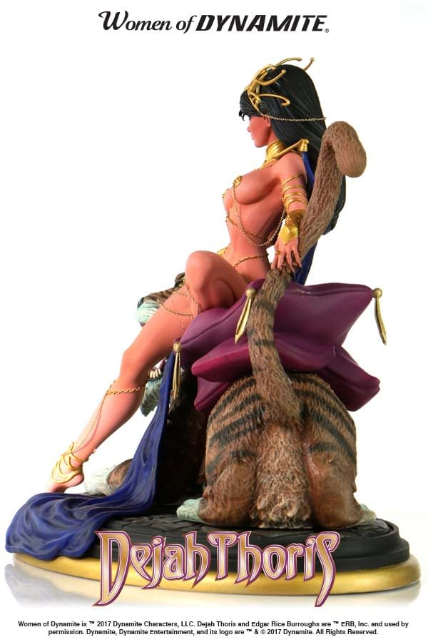 New Dejah Thoris Statue Based On The Art Of J. Scott Campbell