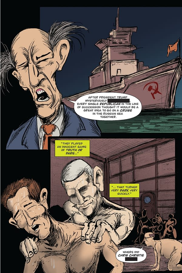 Heavily Censored Preview For Graphic Novel 'UnPresidential' Before One Million Moms Bans It #ElectionDay