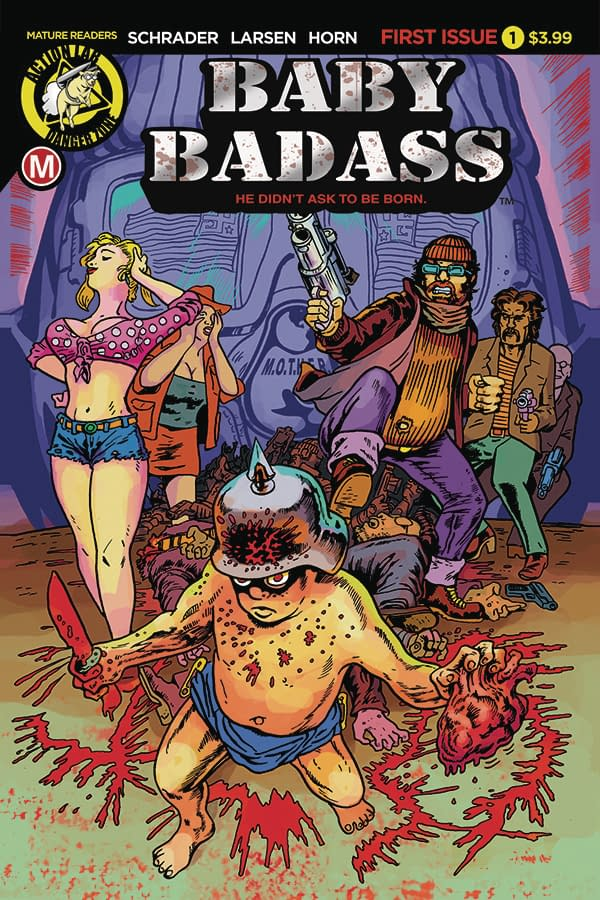 Baby Badass On A Brutal Beatdown: Action Lab Entertainment February 2018 Solicits