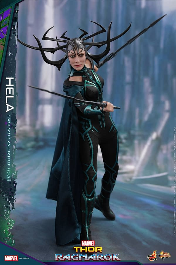 Thor: Ragnarok's Hela Absolutely Crushes It In Her Hot Toys Release