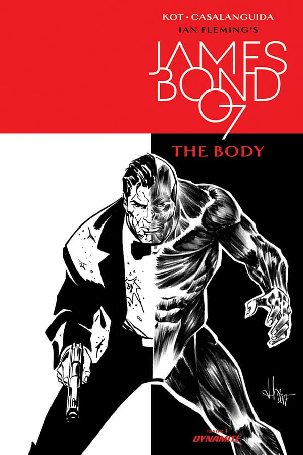 Exclusive First Look At Ales Kot's James Bond: The Body #1