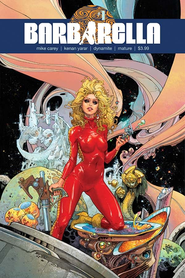 Barbarella #1 Review: Science-Fiction Fun with an Important Message