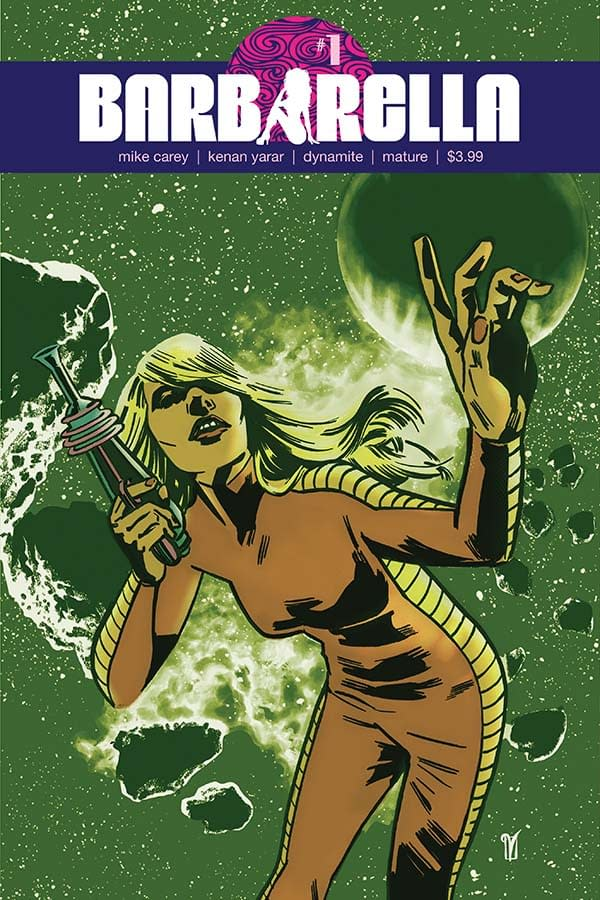 Exclusive Extended Previews of Barbarella #1, Red Sonja #11, and More
