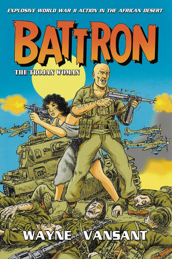 Above and Beyond, Vietnam Journal, and More New Graphic Novels: Caliber Comics March 2018 Solicits