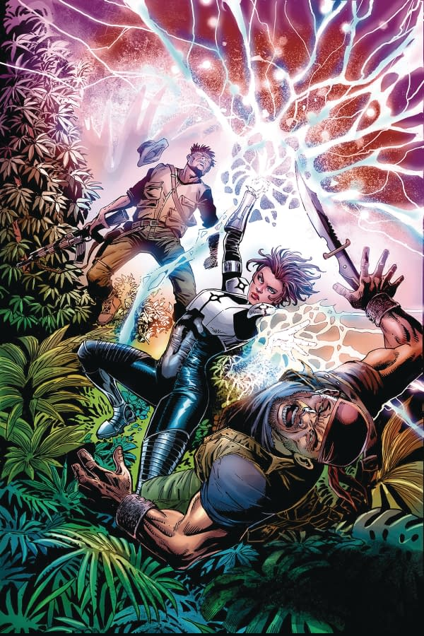 FCBD Wor World Saga Preview, New Series Infinty 8 and Eternity, and MorLion Forge March 2018 Solicit