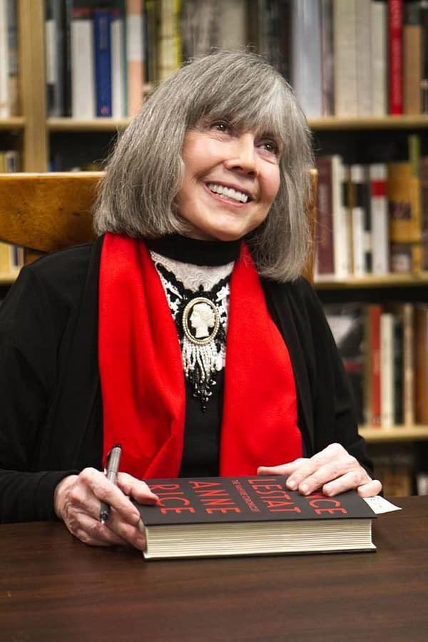 Anne Rice at Signing, photo by Mary Anne Butler