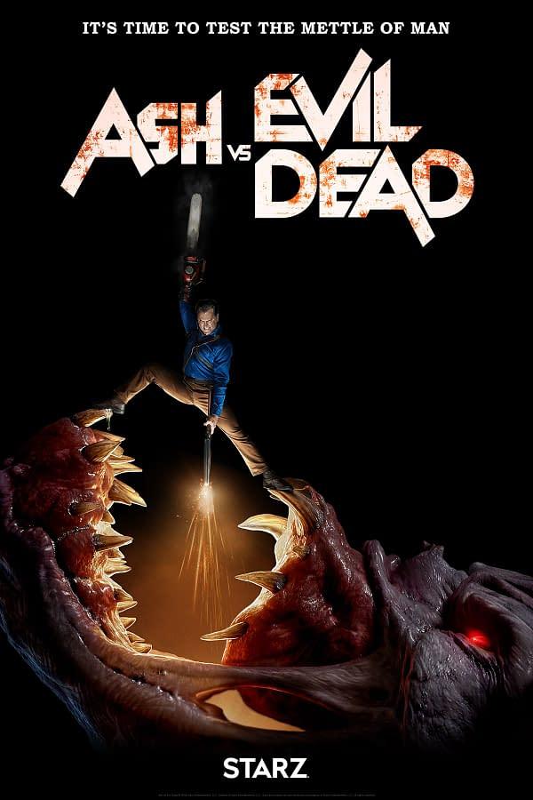 Ash vs Evil Dead Season 3 Gets a Poster and Trailer