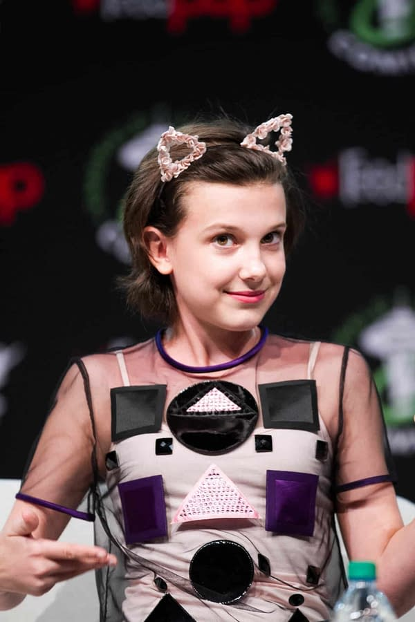 Millie Bobby Brown Wraps 'Stranger Things' S3; Is She DONE-Done?!