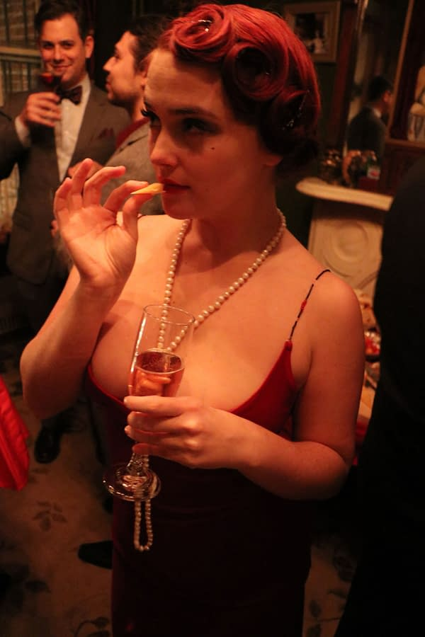 Launch Party for 'Minky Woodcock: The Girl Who Handcuffed Houdini' Brought the Glam