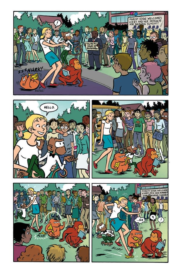 Paul Tobin and Colleen Coover's 'Banana Sunday' Returns with Colors by Rian Sygh