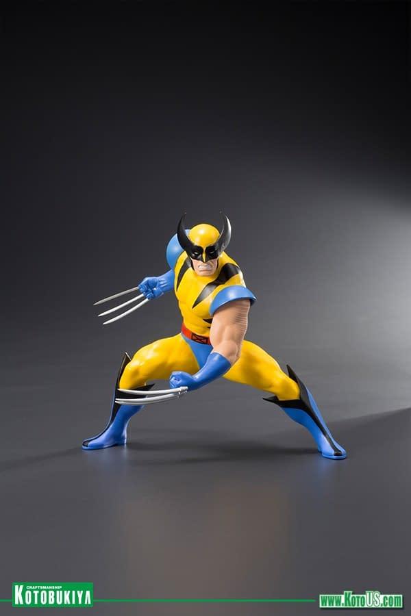 Wolverine and Jubilee X-Men Statue Pack Coming From Kotobukiya