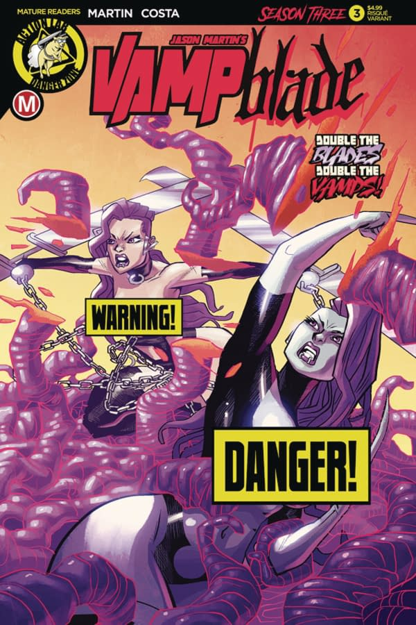 Find Yourself in the Ruin of Thieves: Action Lab Danger Zone May 2018 Solicits