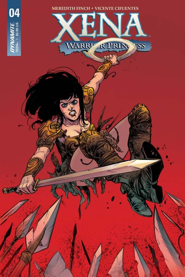 Exclusive First Look at the Women of Dynamite Titles Shipping in May 2018