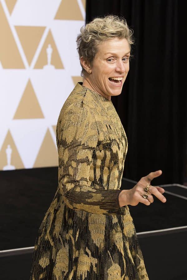 Frances McDormand's Stolen Best Actress Oscar Recovered, Suspect in Custody