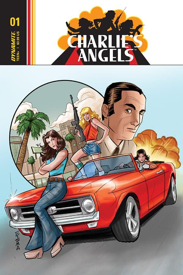 John Layman and Joe Eisma Team for Charlie's Angels Comic Book Series