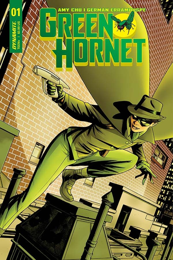 Writer's Commentary: Amy Chu on Green Hornet #1